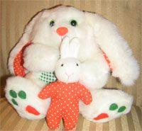 vintage Avon Giggles Bunny