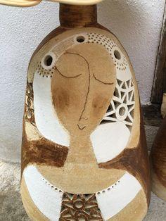 kněžna+baculatá+lampa+s+robustní+oválnou+základnou+o+šíři+cca+33+cm+základnou,,,výška+ celé+lampy+je+ cca+62+c… Ceramic Pottery, Coasters, Angels, Ceramic Art, Creativity, Ceramic Lamps, Dolls Dolls, Clay, Porcelain Ceramics