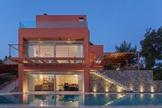 Residence at Dionisos PALY architects Lykoudis Papaspiliopoulou