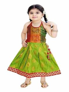 0369fcecab7395 I am bringing along yet another new and elegant post of tamil traditional  dress for kids! Today I am bringing along a beautiful post for all of Tamil