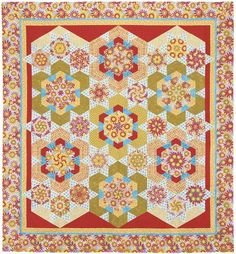 Daisy Splash. Quilt from Doubledipity: More Serendipity Quilts by Sara Nephew