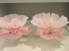 Cute Shabby Chic Cupcake Cups for Birthday Party or by JeanKnee, $11.00