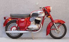 Old Czechoslovak motorcycle Jawa