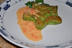 Chef JD's Southwestern Cuisine: Spinach and Manchego Cheese Soufflé with Roasted Red Pepper Beurre Blanc