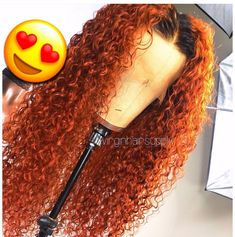 Red Wigs Lace Frontal Wigs Red Wavy Wig Real Hair Colored Wigs Red Hair Color With Highlights Light Yellow Wig Colored Frontal Wigs Love Hair, Gorgeous Hair, Beautiful, Curly Hair Styles, Natural Hair Styles, Natural Wigs, Wig Styles, Colored Wigs, Colored Hair