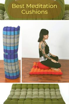 A perfect addition to my meditation space! Meditate with the best cushion for your Meditation room. Share this pin for the best meditation cushions and meditation benches. Meditation Stool, Group Meditation, Best Meditation, Meditation Cushion, Meditation Space, Meditation Retreat, Yoga Benefits, Relax, Cushions