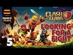 ENDLESS LOOTING! - Ep.05 - CLASH OF CLANS - SquadB Rising!