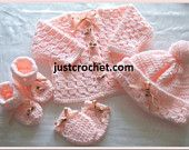 4 Piece outfit Baby Crochet Pattern (DOWNLOAD) 39