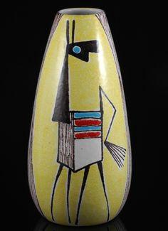 Anonymous; Glazed Ceramic Vase by Fratelli Fanciullacci, c1960.