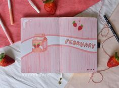 Create your perfect February Bullet Journal Cover Page with these 14 stunning bujo inspirations. Choose from unique cover designs and aesthetics that are perfect for beginners! #bulletjournal #coverpage #february bujo ideas February Bullet Journal, Bullet Journal Cover Ideas, Bullet Journal 2020, Journal Covers, Journal Pages, Different Art Styles, Journal Quotes, Basic Shapes, Rose Design