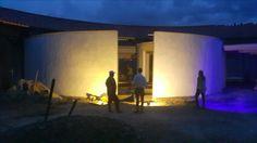 EL VIENTO en construcción ensayo de iluminación