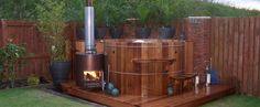 Terete Hot Tubs are leading installers of wood fired Wooden Hot Tubs. For more information on this service call us on 01609 883103