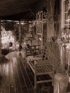 Front Porch at Country Originals by javcon117, via Flickr