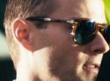 613d2cbc595c Matt Funke wears Persol 714 Steve McQueen model in the movie Americons
