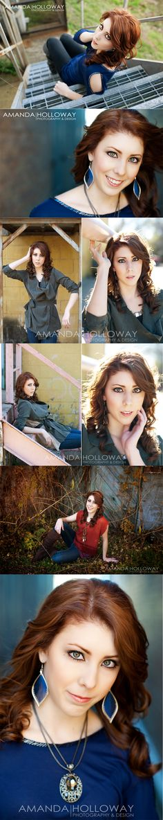 Senior Photo Ideas for Girls | Senior Picture Poses | Amanda Holloway photography