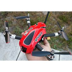 AFF Spy 260X Race quadcopter (red)