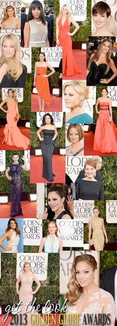 2013 Golden Globe Award Beauties   http://www.beautifulmakeupsearch.com/beauty-blog/get-the-look-2013-golden-globe-awards.html