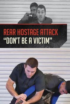 VIDEO: Rear Hostage Attack with a Handgun | Self Defense Tactics by Gun Carrier at guncarrier.com/...