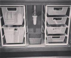 Useful Ideas How to do Bathroom Cabinet Organization - Almost every bathroom has. - Useful Ideas How to do Bathroom Cabinet Organization – Almost every bathroom has… - Under Kitchen Sink Organization, Under Cabinet Storage, Under Kitchen Sinks, Bathroom Cabinet Organization, Sink Organizer, Bathroom Organisation, Pantry Organization, Storage Cabinets, Under Bathroom Sink Storage