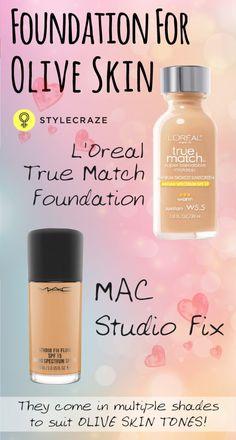 Make-up for olive skin