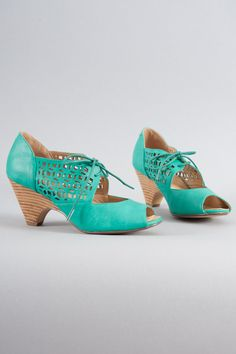 Shop the Jazz Lace Up Heels in Teal by Chelsea Crew online - Minx - Clothe, Adorn, Empower, Provide