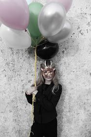 Masks dress up lirumlarumleg: Fastelavn - maskebal