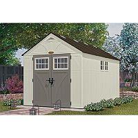 Lifetime 15u0027 X 8u0027 Dual Entry Outdoor Storage Shed | Outdoor Storage And  Storage