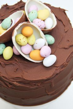 Påsktårta Easter Dinner Recipes, Healthy Dinner Recipes, Holiday Recipes, Bagan, Cake Recipes, Dessert Recipes, Piece Of Cakes, Yummy Cakes, Tart