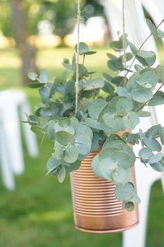 Mariage Scandinave Cuivre - Design et Papeterie Dessine-moi une etoile - Fleurs Aude Rose - Bouts de banc Cérémonie Conserve Cuivre