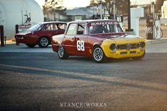 Italian Heritage – Anthony and Fabrizio Rimicci's Alfa Romeo Track Duo Sports Car Racing, Race Cars, Alfa Romeo Giulia, Alfa Alfa, Super Junior, Roll Cage, Limited Slip Differential, Classic Italian, Two By Two