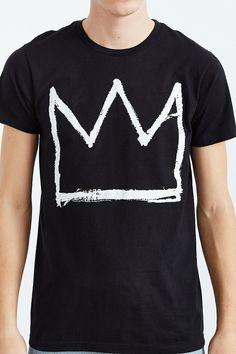 Junk Food Basquiat Crown Tee - Urban Outfitters