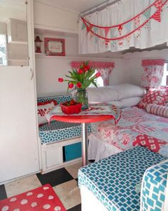 47 Amazing Camper Interior Hacks, Makeover, Remodel and Decorating Ideas - Page 22 of 48