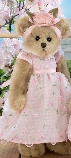 Teddy Bears for Miss Frivolous Fabulous                              …