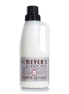 Lavender Fabric Softener from Mrs. Meyer's Clean Day.  #crueltyfree #noanimaltesting