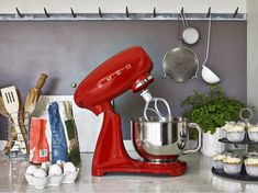 What are you thinking of baking this week?  Why not try it with our SMF03 stand mixer, definitely not an appliance to hide in the cupboard! Smeg Stand Mixer, Baking Gadgets, Kitchen Gadgets, Mixer Accessories, Pasta Maker, Good Housekeeping, Island, Small Appliances, Kitchen Aid Mixer