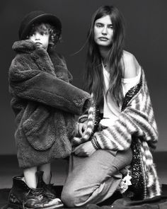 BIANCA BALTI and her daughter MATILDE LUCIDI FOR GREY MAGAZINE Cool Factor | ZsaZsa Bellagio - Like No Other