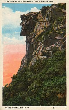 The Old Man of the Mountain....New Hampshire