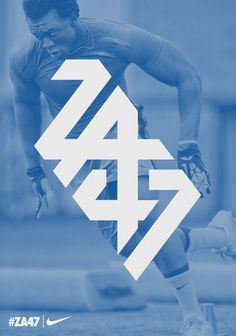 Logo 22: I liked how they kept the logo clean and geometric while incorporating their name Ziggy Ansah Logo