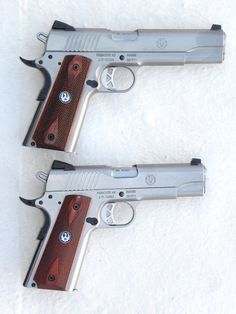 These are a little hard to find. Ruger SR1911. But we have both in our cabinet right now!