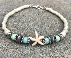 Ankle Bracelet Beach Anklet Starfish Anklets Womans Anklet #beachyankletsdiy #diyankletbeach