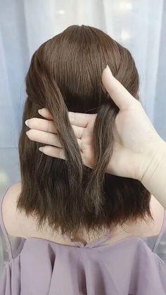 diy hairstyles easy hairstyles for long hair videos Braided Hairstyles Updo, Easy Hairstyles For Long Hair, Diy Hairstyles, Hairstyles Videos, Beautiful Hairstyles, School Hairstyles, Simple Elegant Hairstyles, Middle Length Hairstyles, Medium Hair Updo Easy