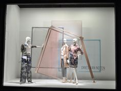 #driesvannoten #nordstromwindows spring 13