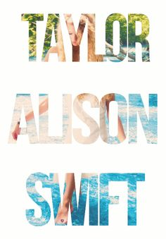 Taylor Alison Swift. Talanted Amazing Stunning. We love you, Tay❤️