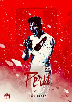 Peru : Los Incas = The Incas! Peru Soccer, Soccer Cup, Soccer World, Football Is Life, Football Art, Peru Football, Football Posters, World Cup 2018 Teams, Fifa World Cup