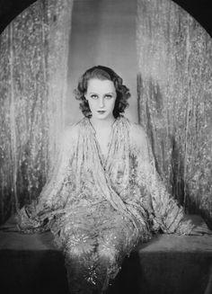 Brigitte Helm, actress, Germany, 1928 by E.O. Hoppe