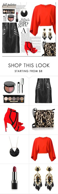 """""""Fall Palettes"""" by mk-style ❤ liked on Polyvore featuring Bobbi Brown Cosmetics, Coach, Balenciaga, Jimmy Choo, STELLA McCARTNEY, Avon and Gucci"""