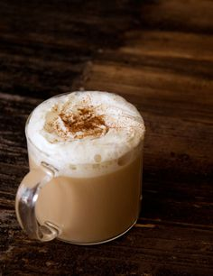 Chai Tea Latte (using Silk Almond/Coconut Milk instead of whole milk and Truvia for the sweetener.)