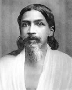 "Sri Aurobindo: ""Love is the only reality and it is not a mere sentiment. It is the ultimate truth that lies at the heart of creation."" Photo from around 1900, India."