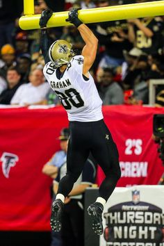 Sorry Jimmy Graham.  The NFL will reportedly penalize players for celebratory goal post dunks next season. MORE: foxs.pt/ORwoDE