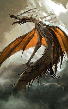 Thorn Wyvern by *SandroRybak on deviantART